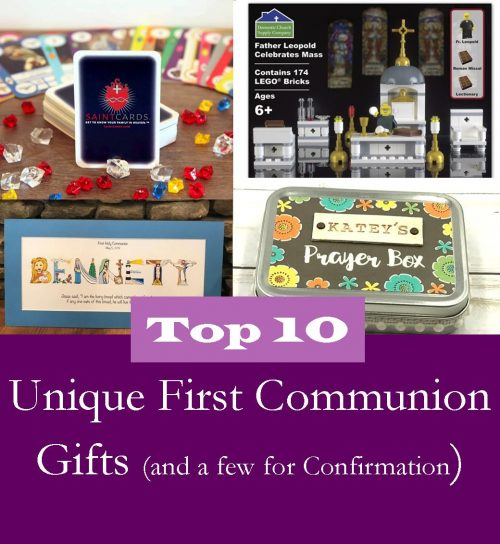 Top 10 Unique First Communion Gifts (and a Few for Confirmation)